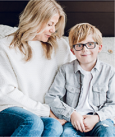 Janey Reilly and her son, WeeSleep